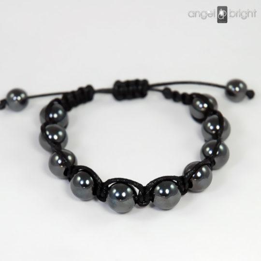 Bracelet SHAMBALLA Hematite Stone