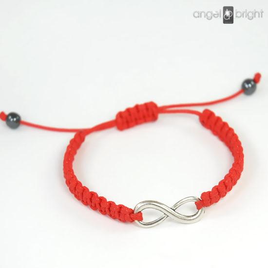 Red Infinity Bracelet