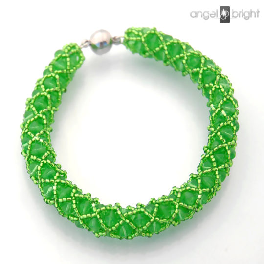 Crystal Green Bracelet -