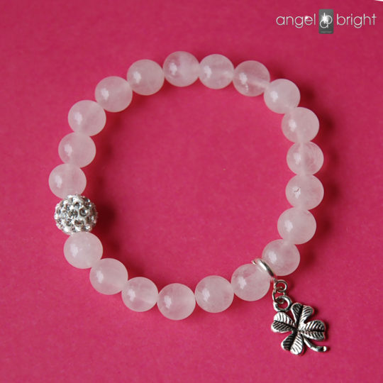 Bracelet of Happiness - Rose Quartz