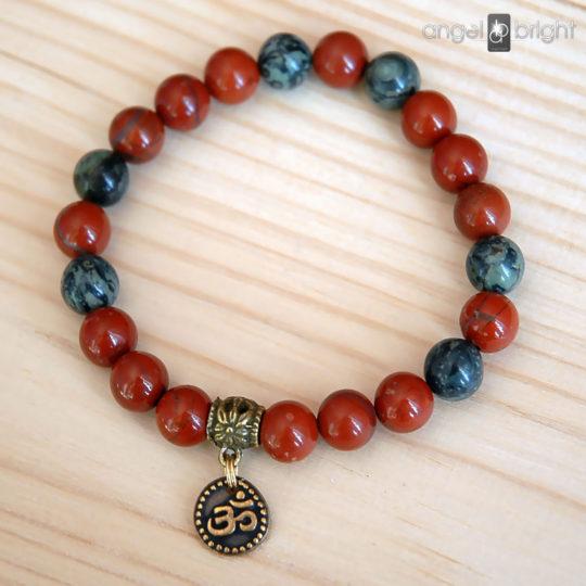 Armband OM — Jaspis