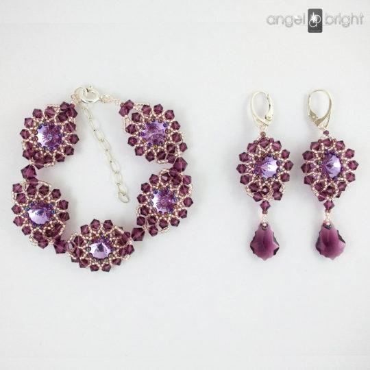 Conjunto 'Resplandor de Púrpura'