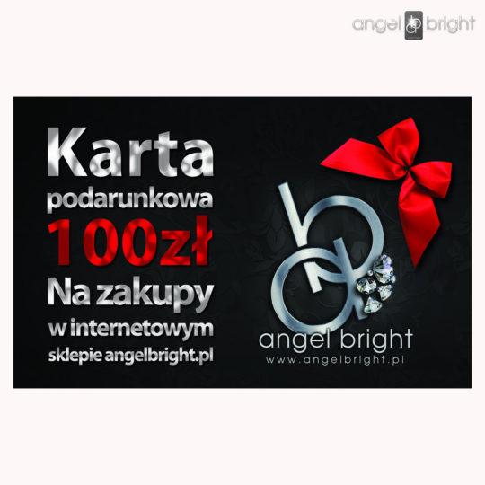 (Polski) Karta Podarunkowa Bon   o wartości 100zł