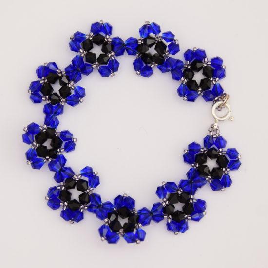 Bracelet – Cornflowers – Sterling Silver