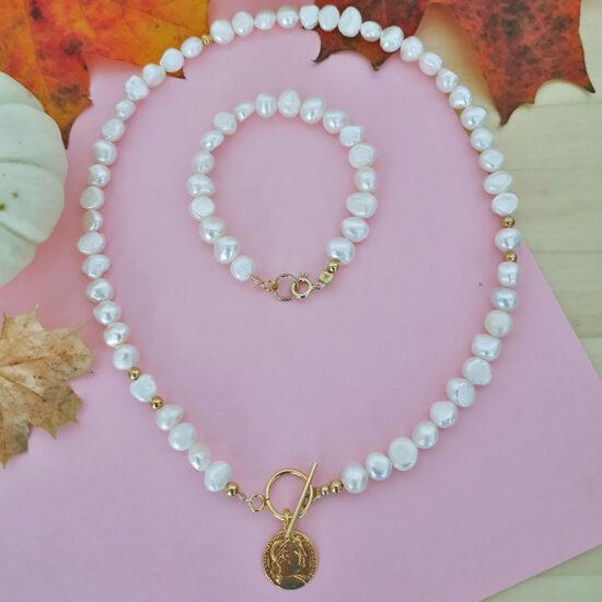 Ice Mountain Crystal Necklace - Silver (Kopia) (Kopia)