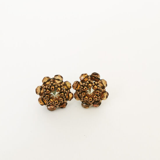 Earrings - Swarovski Studs - Cornflowers - Sterling Silver  (Kopia) (Kopia) (Kopia)